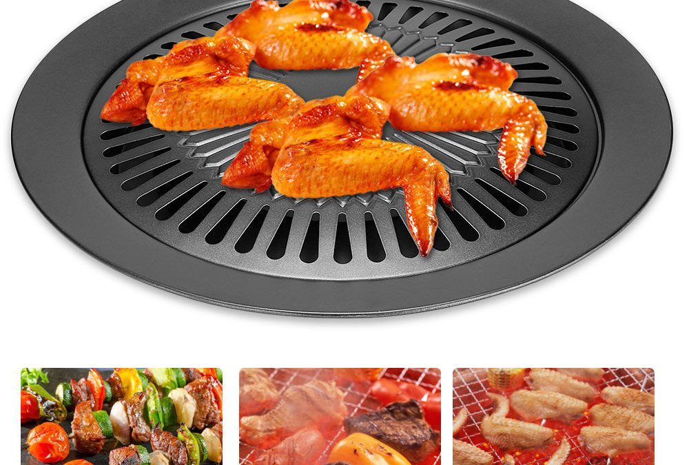 Grill pans for the outdoor grill- cane make your food extra delicious.